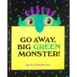 Go Away, Big Green Monster! (Hardback  2012)