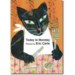 Today is Monday (Board book 2001)