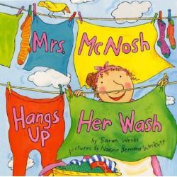 Mrs McNosh Hangs Up Her Wash