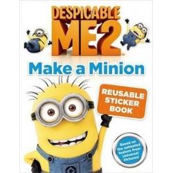 Despicable Me 2: Make a Minion Reusable Sticker Book