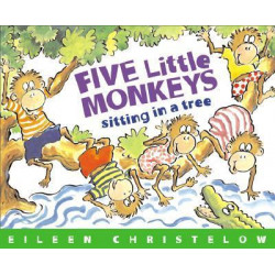 Five Little Monkeys Sitting in a Tree (Paperback 2014) Lowest Price