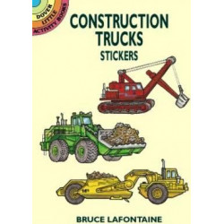 Construction Trucks Stickers
