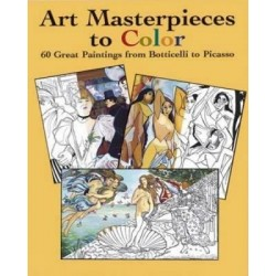 Art Masterpieces to Colour
