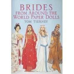 Brides from Around the World Paper Dolls