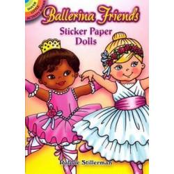 Ballerina Friends Sticker Paper Dolls