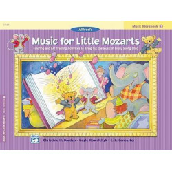 Music for Little Mozarts Music Workbook, Bk 4