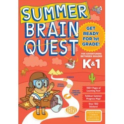 Summer Brain Quest Get Ready for 1st Grade