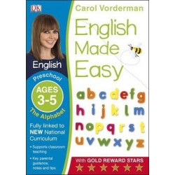 English Made Easy The Alphabet Ages 3-5 Preschool Key Stage 0