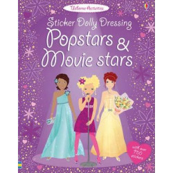 Sticker Dolly Dressing Popstars and Movie Stars