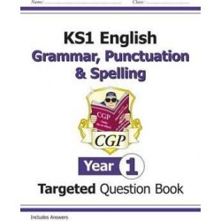 KS1 English Targeted Question Book: Grammar, Punctuation & Spelling - Year 1