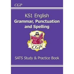 KS1 English Grammar, Punctuation & Spelling Study & Practice Book