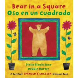 Bear in a Square Bilingual Spanish