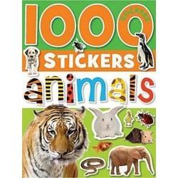 1000 Stickers: Animals