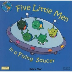 Five Little Men in a Flying Saucer (Board book 2005)