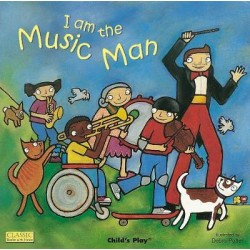 I am the Music Man (Board book 2005)