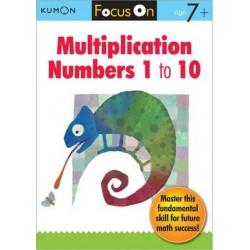 Focus On Multiplication: Numbers 1-10