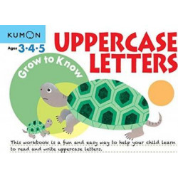 Grow to Know Uppercase Letters: Ages 3 4 5