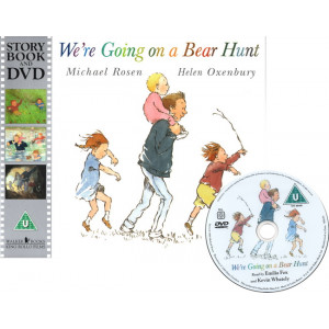 We're Going on a Bear Hunt (Paperback with DVD) - The Lowest Price