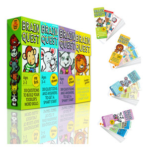 Brain Quest (Book 1-4 Collection)