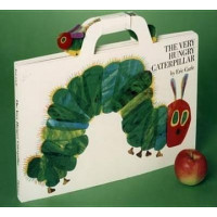 The Very Hungry Caterpillar (Hardcover with Caterpillar)