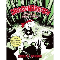 Attack Of The Ninja Frogs: Dragonbreath (Book 2)