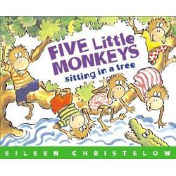 Five Little Monkeys Sitting in a Tree (Paperback 2014) Lowest Price