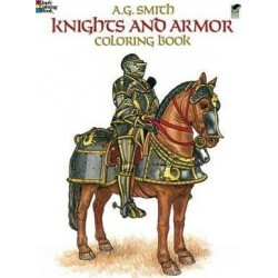 Knights and Armour Colouring Book