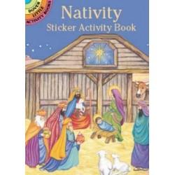 Nativity Sticker Activity Book