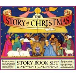 Story of Christmas: Story Books & Advent Calendar