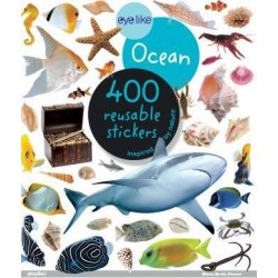 Eyelike Ocean - 400 Reusable Stickers Inspired by Nature