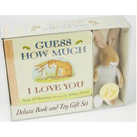 Guess How Much I Love You Board Book and Plush