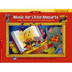 Music for Little Mozarts Music Workbook, Bk 1