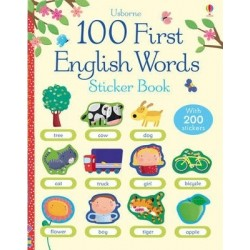 100 First English Words Sticker Book
