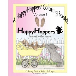 A Happyhoppers Coloring Book, Volume 1