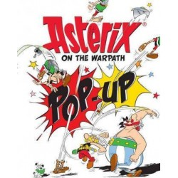 Asterix on the Warpath Pop-Up Book