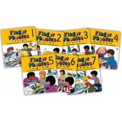Finger Phonics books 1-7