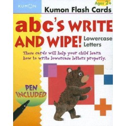 ABC's Write and Wipe Lowercase Letters